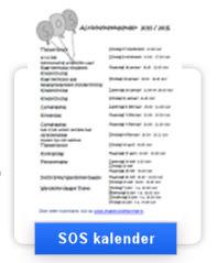 SOS kalender