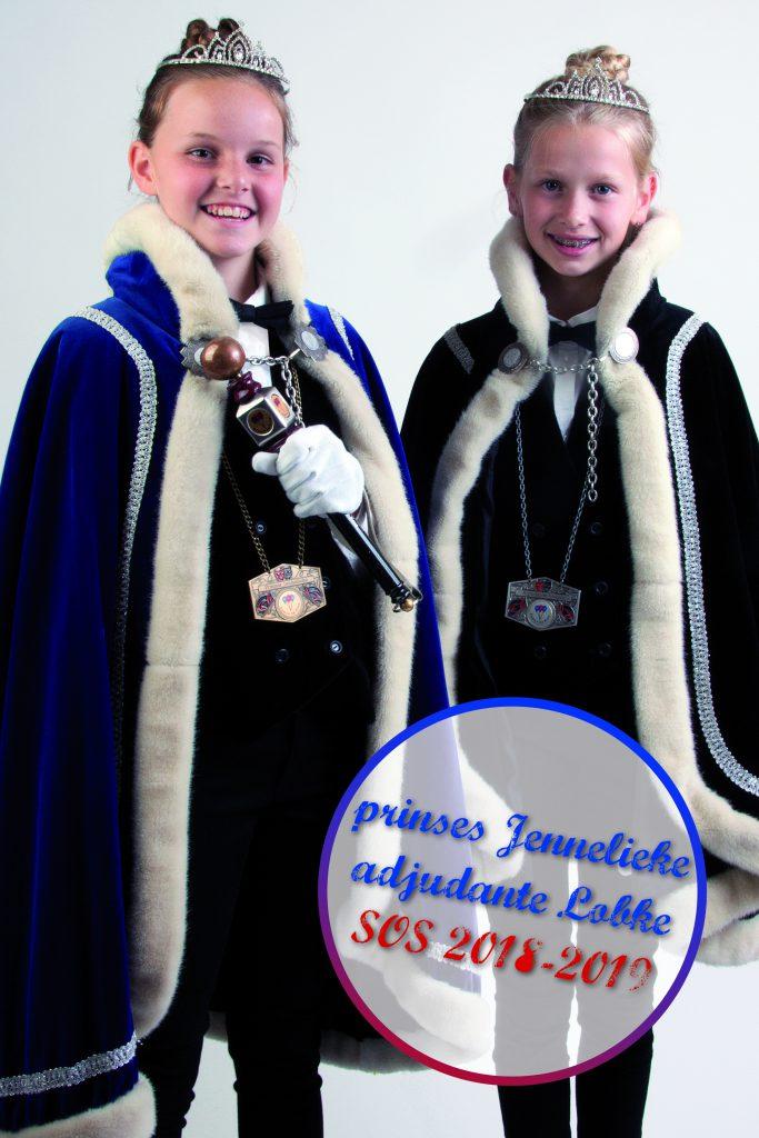 Prinses Jennelieke en Adjudante Lobke